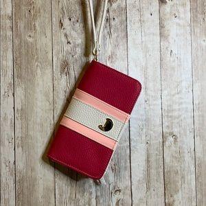 Sale ♻️ Buxton Striped Pebble Leather Wallet